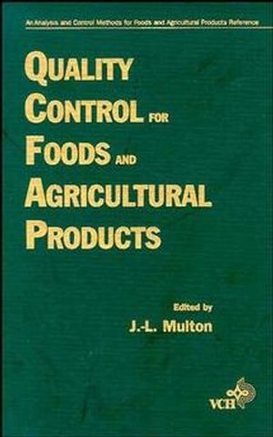 Quality Control for Food and Agricultural Products General