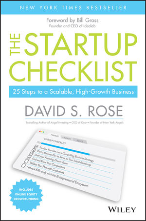 The Startup Checklist 25 Steps to a Scalable, High-Growth Business