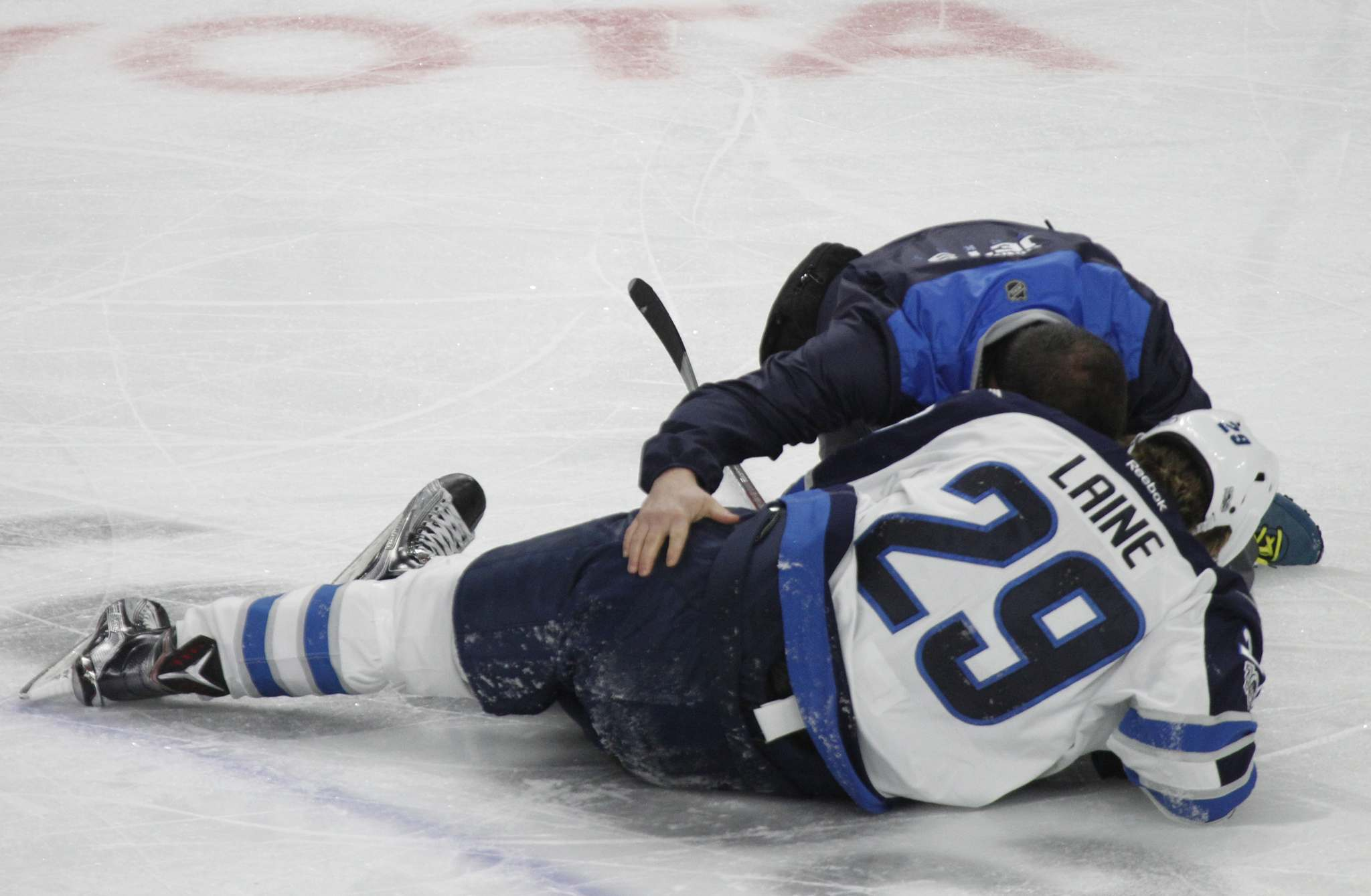 Laine Spa Visit Positive Step In Laine S Recovery Winnipeg Free Press