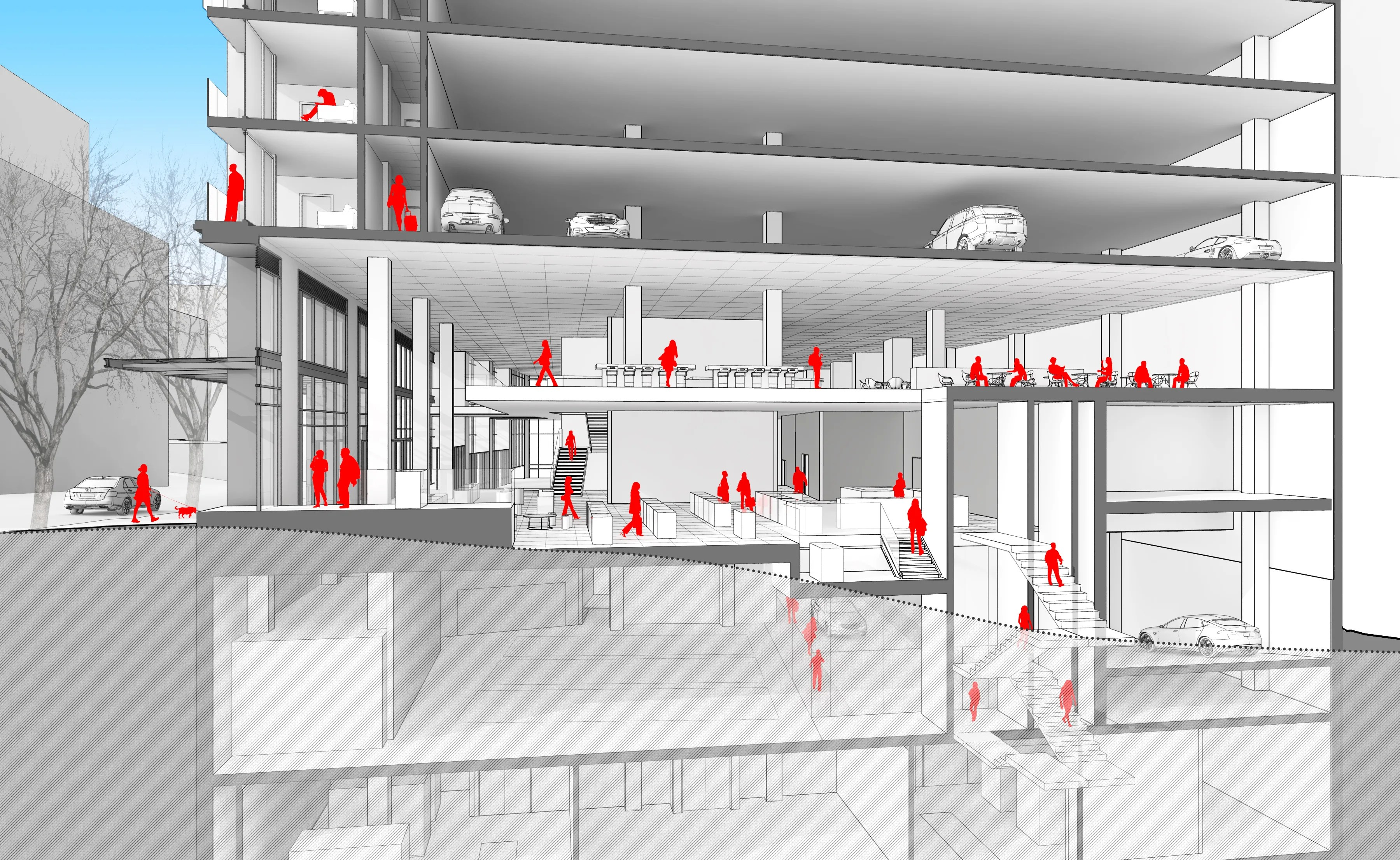 Garage Apartment Example Architects Are Designing Parking Garages That Can Convert Into