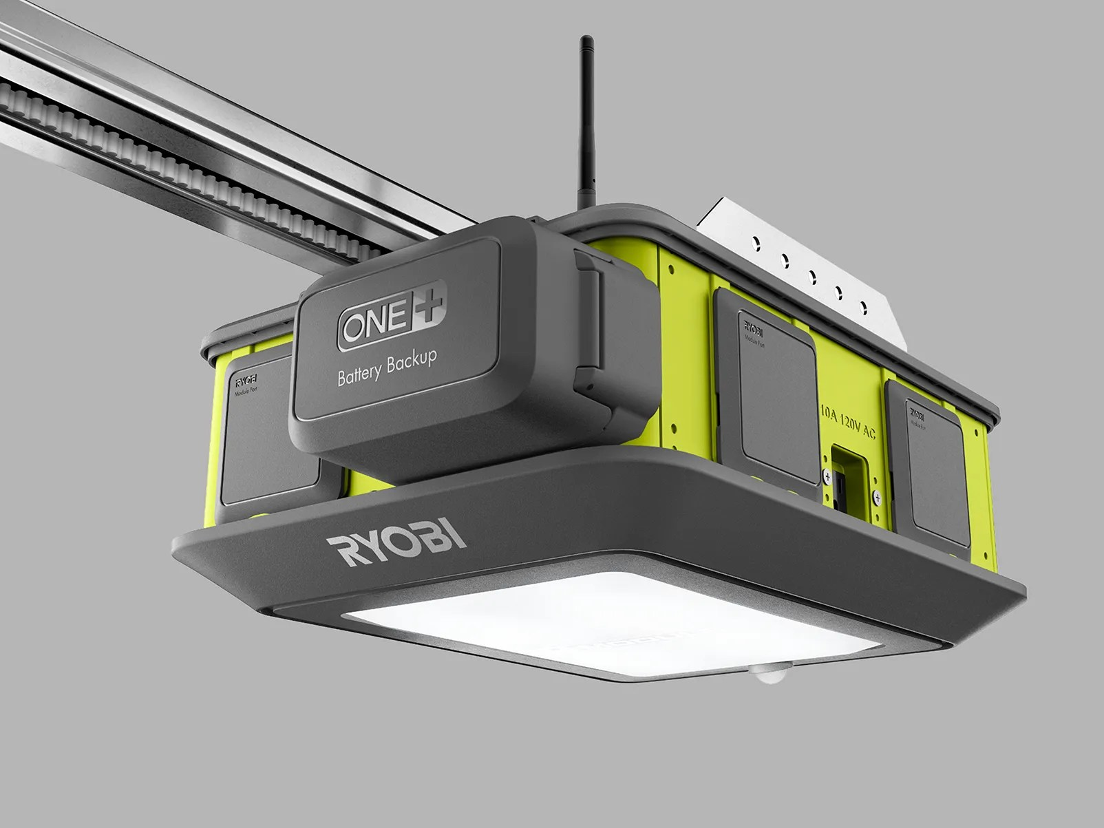 Ryobi Garage Door Fan This Is One Seriously Cool Garage Door Opener Seriously Wired