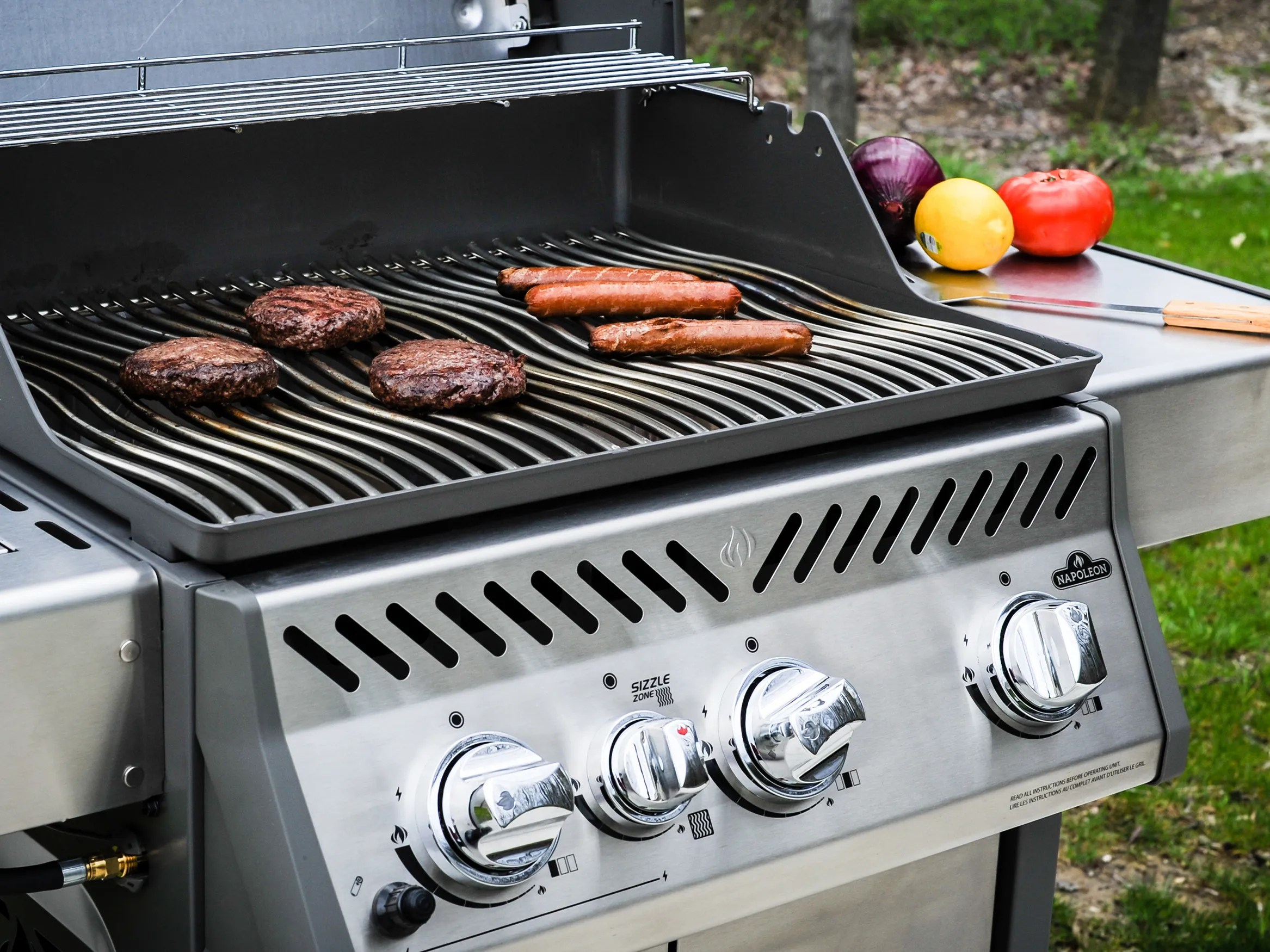 Napoleon Lex485rsib Propane Bbq Best Gas Grills 2017 Reviews Buying Gide Wired