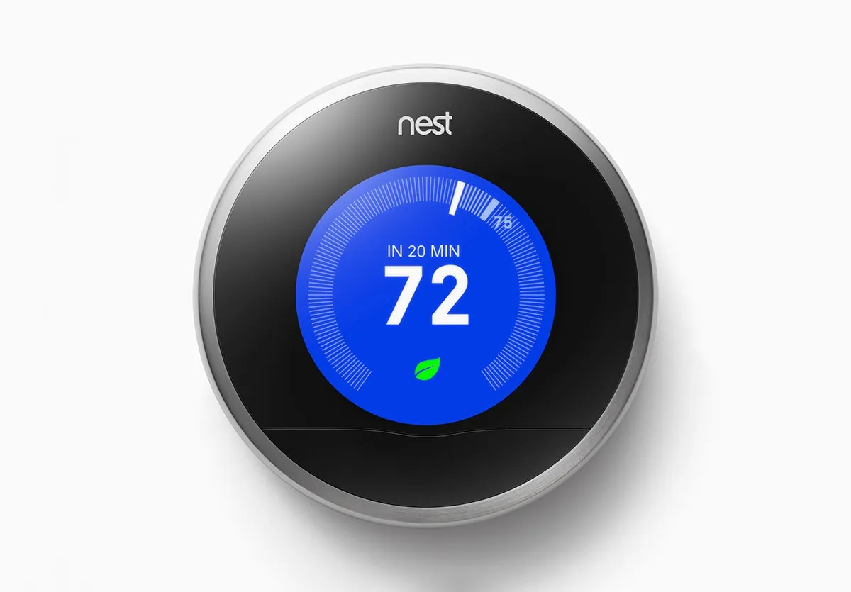 Klokthermostaat Wifi You Can Now Control Your Nest Thermostat With Voice