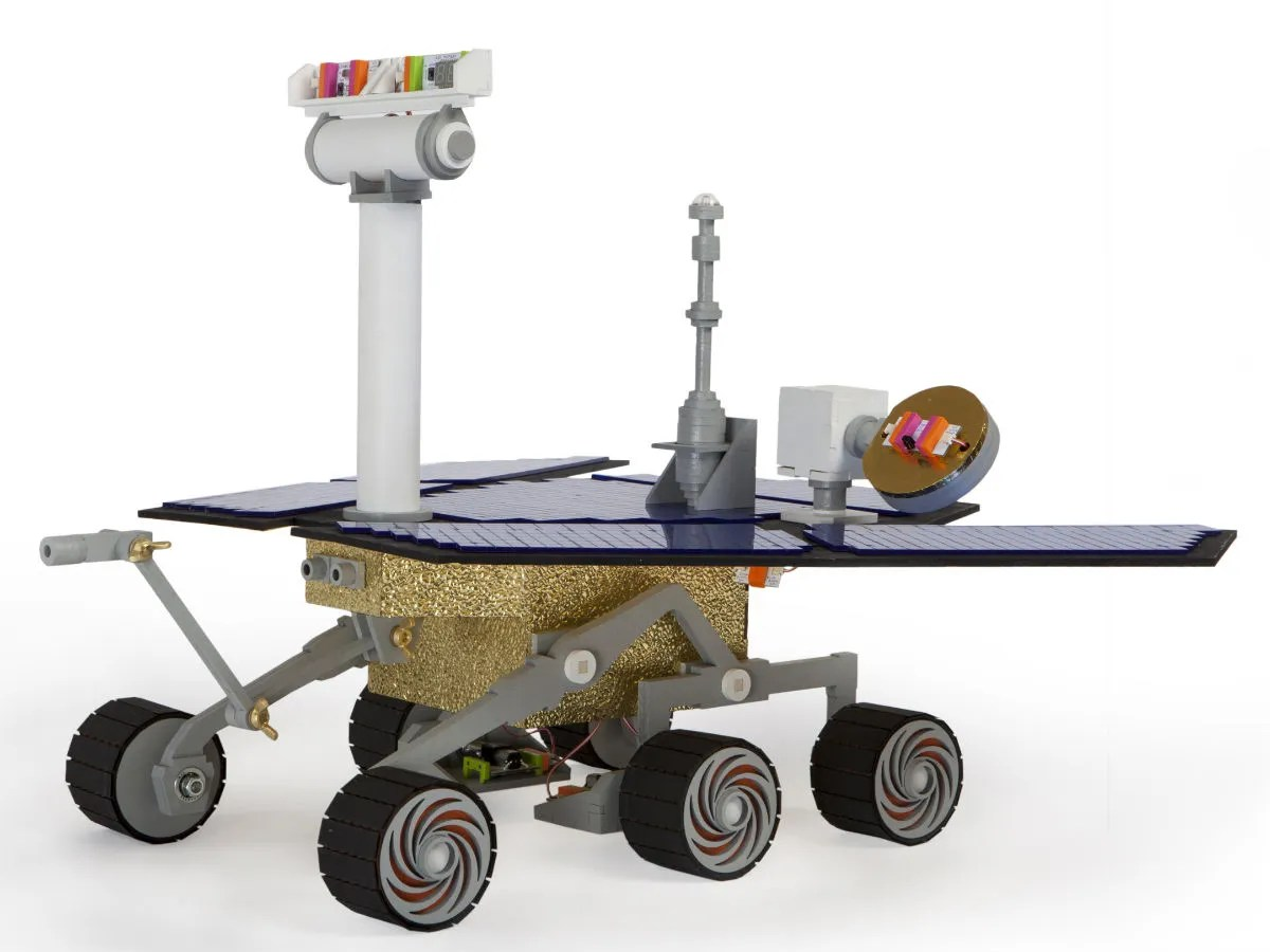 Moon Buggy Diy Build Your Own Mini Mars Rover With These Brilliant Nasa
