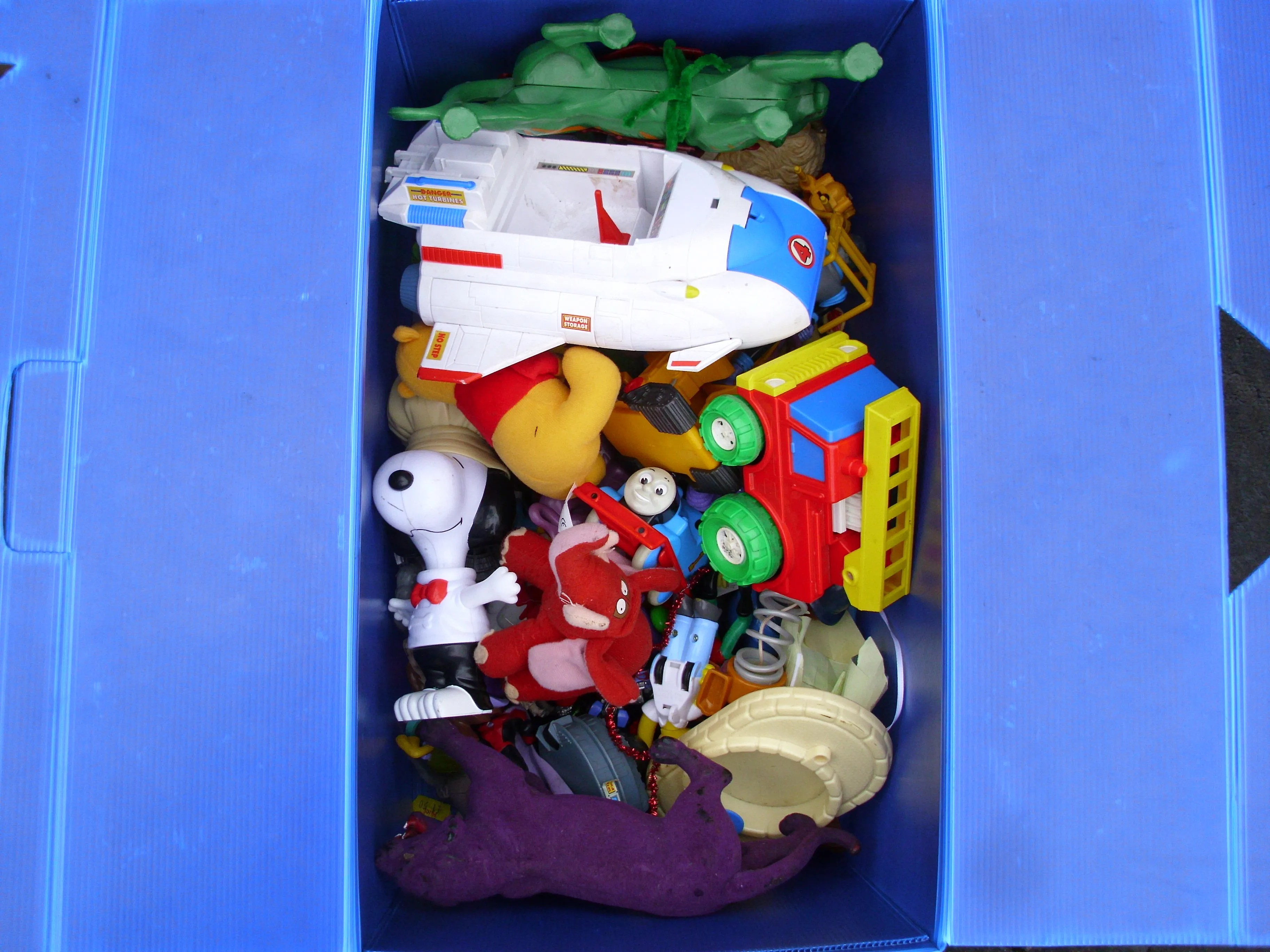 Toy Capsule Toys A Toy Box Time Capsule Wired