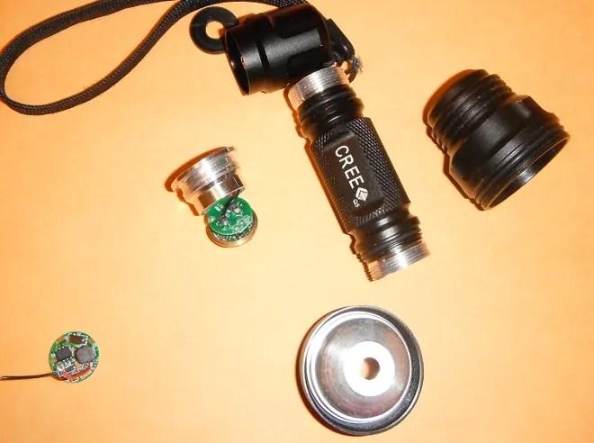 LED Flashlight Tinkering WIRED