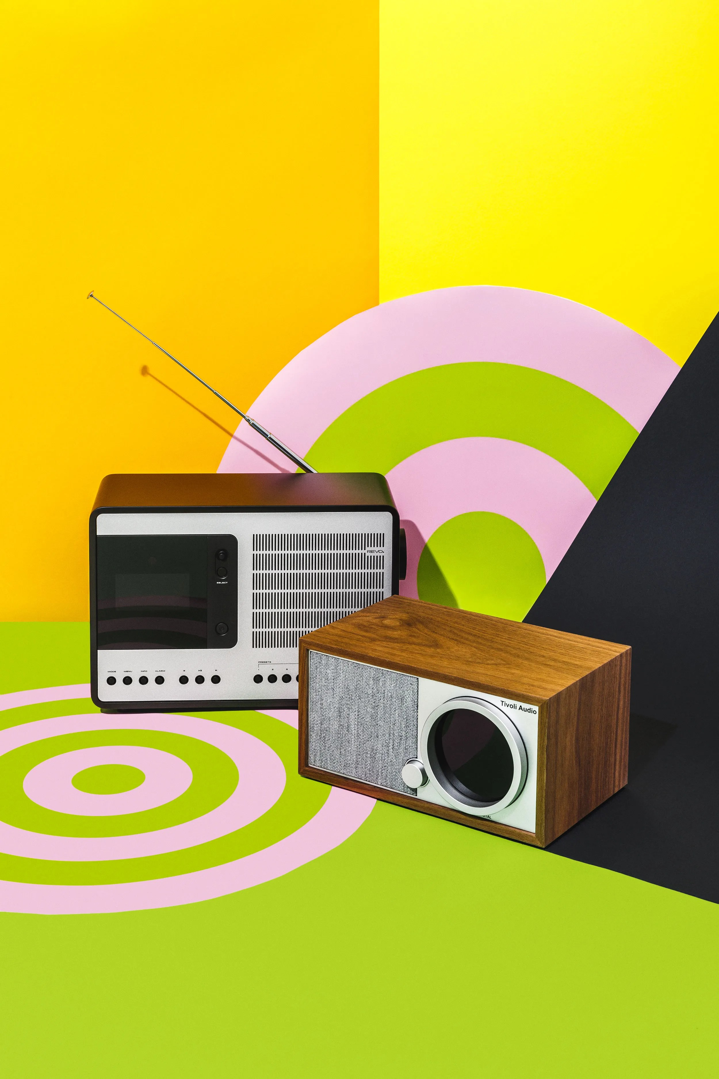 Tivoli Audio Yellow Stream Your Favorite Tunes With These Connected Radios Revo