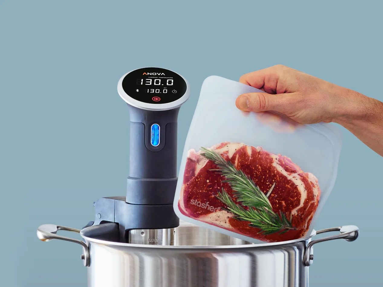 Sac Pour Machine Sous Vide Stasher Silicone Bag Review Great For Sous Vide Cooking Wired