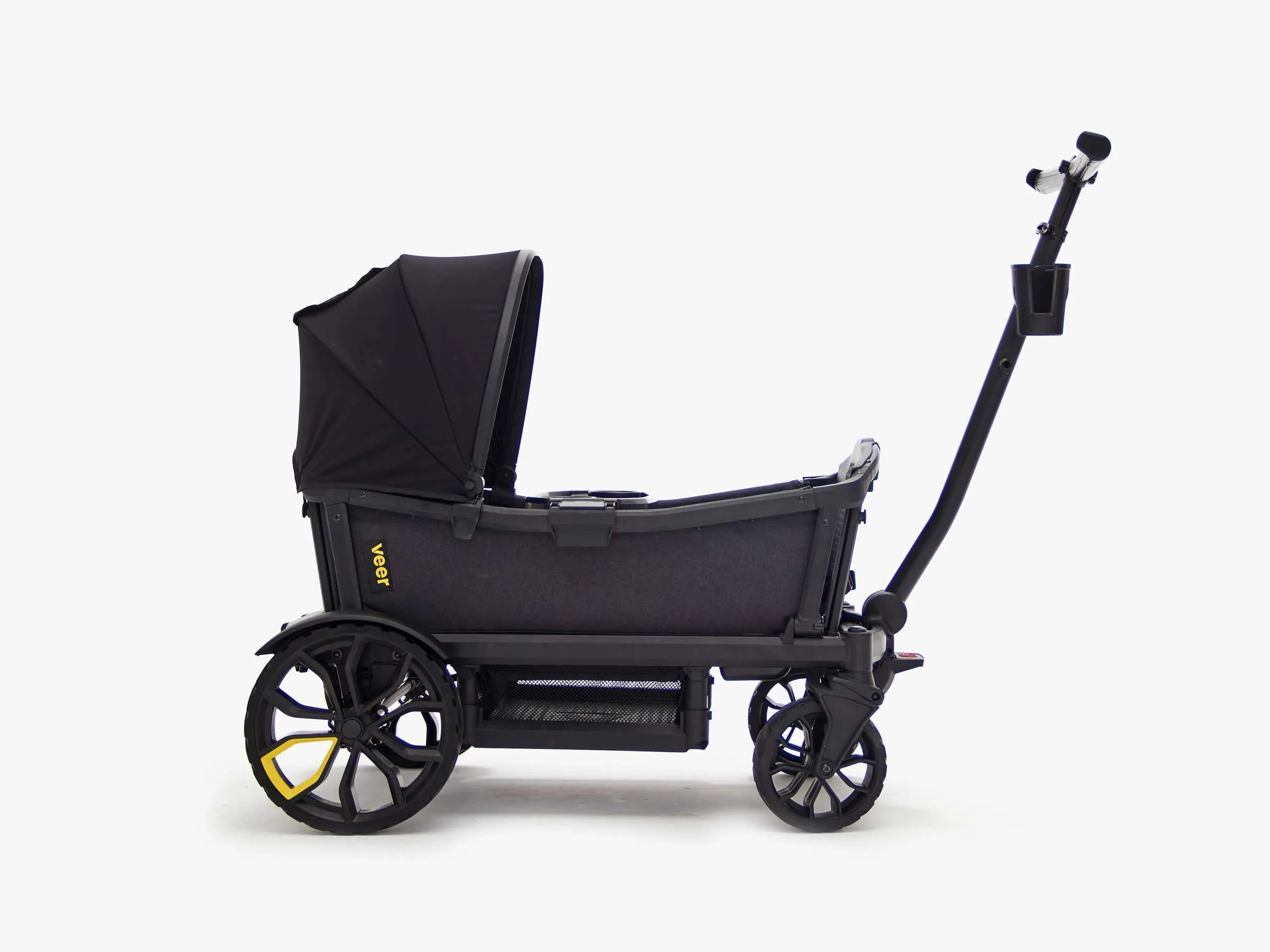 Double Stroller Expensive Veer Cruiser Review It Carries Your Kids In Comfort Off Road And On