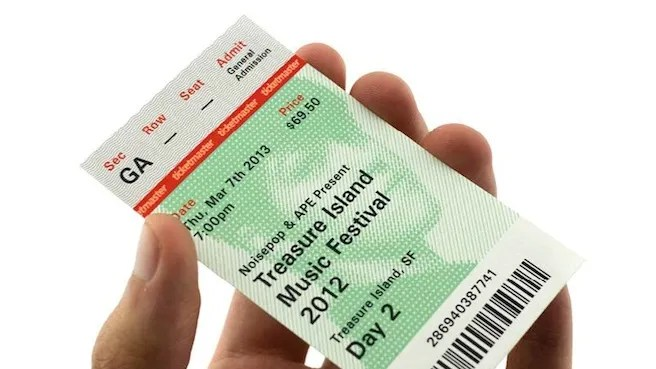 Ticketmaster, Your Awful Tickets Should Look Like This WIRED