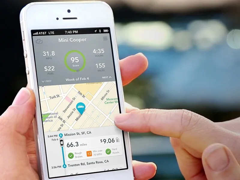 The Beautiful UI Design Behind Automatic, a Driving App That Saves