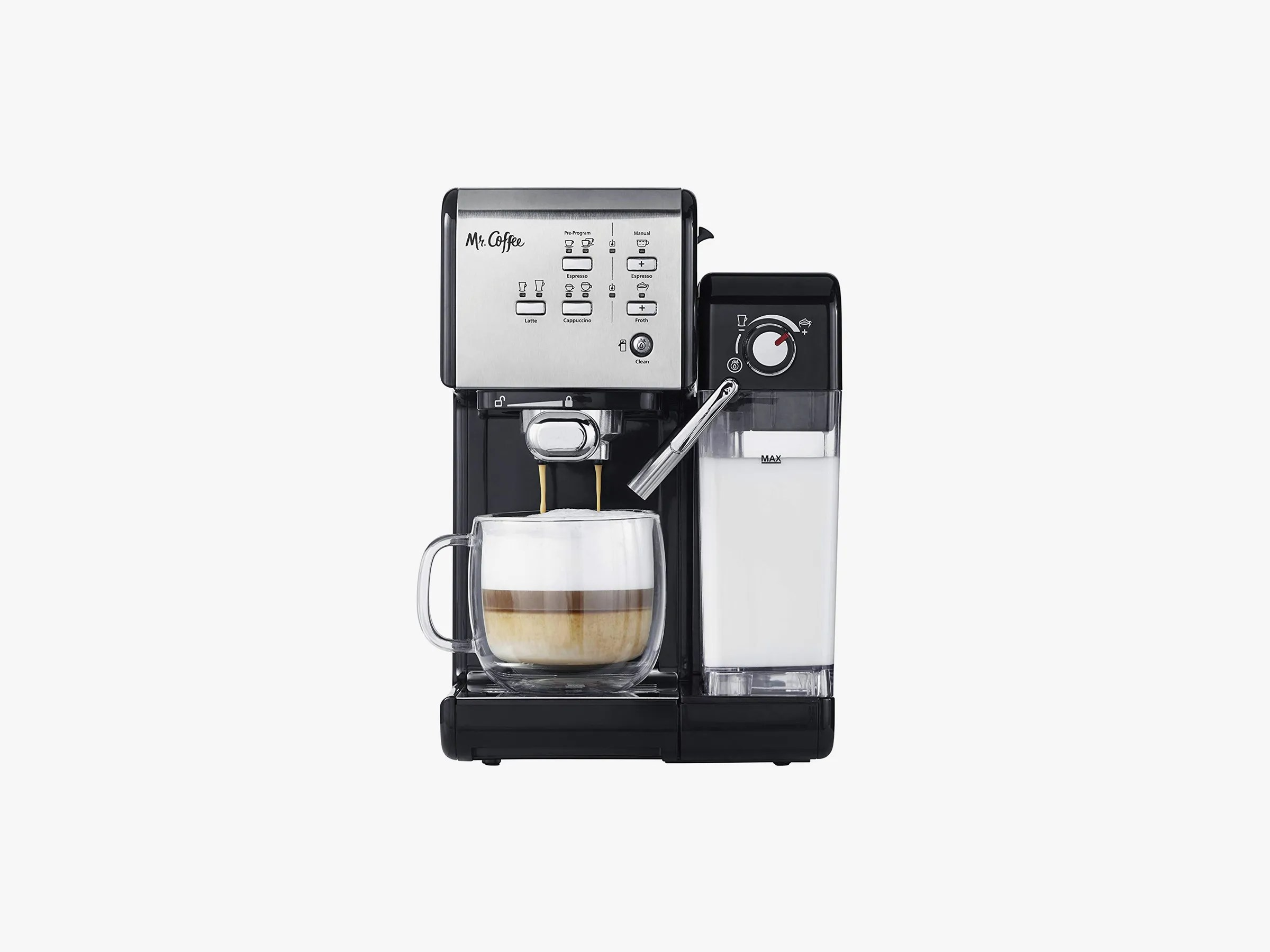 Machine 8 Best Latte And Cappuccino Machines 2019 Breville Mr Coffee
