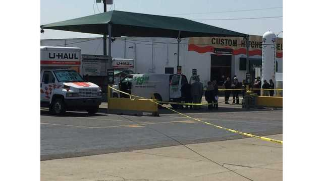 Body of adult found in tote in U-Haul on south side