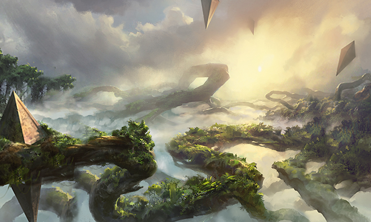 Wallpaper Falling Off The Survivors Of Sky Rock Magic The Gathering