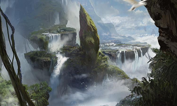 Gravity Falls Landscapes Wallpaper Quot Creature Quot Lands Magic The Gathering