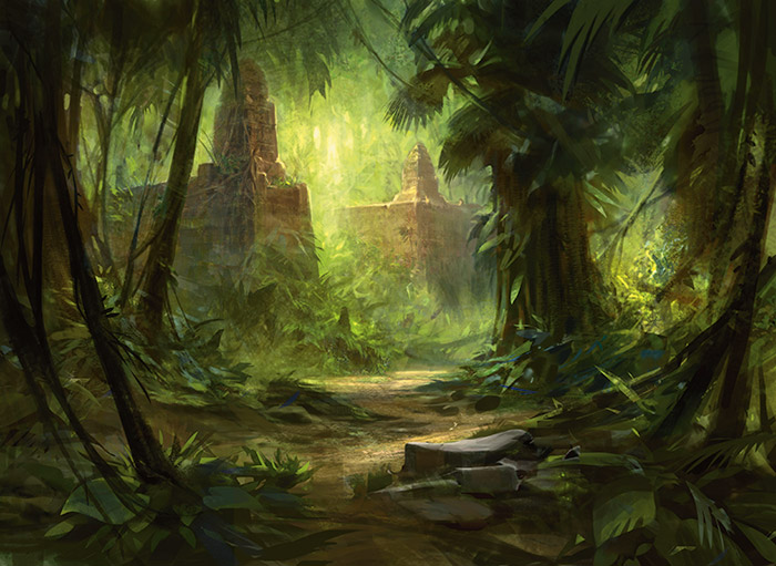Mystical Creatures In The Fall Wallpaper Tarkir Basically Magic The Gathering