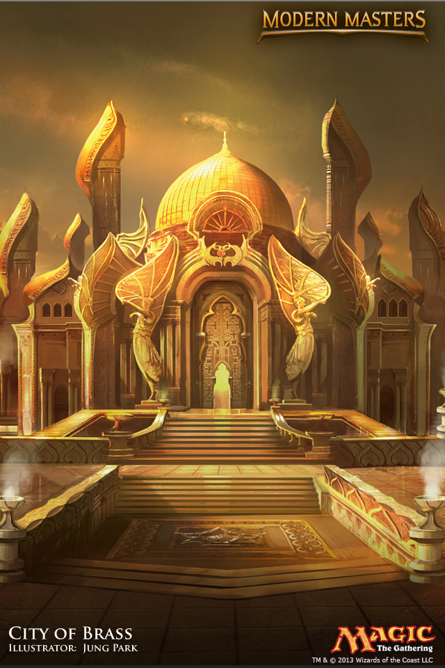 Palace Wallpaper Hd Wallpaper Of The Week City Of Brass Magic The Gathering