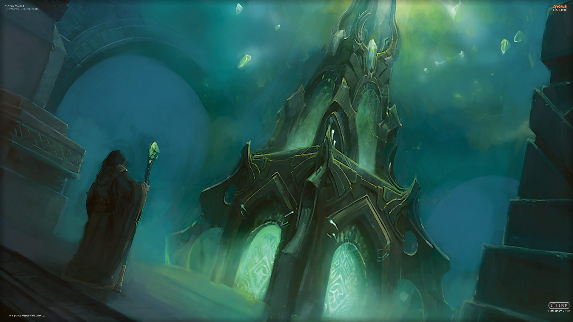 Mtg Wallpaper Wallpaper Of The Day Mana Vault Magic The Gathering
