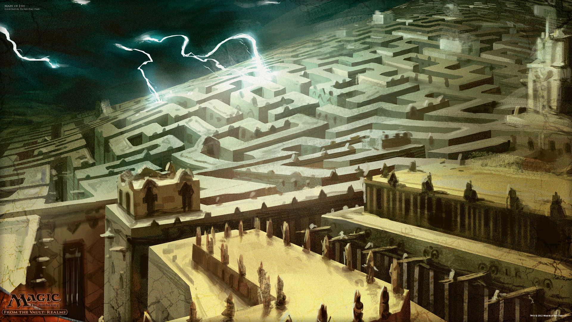 London Iphone X Wallpaper Wallpaper Of The Week Maze Of Ith Magic The Gathering