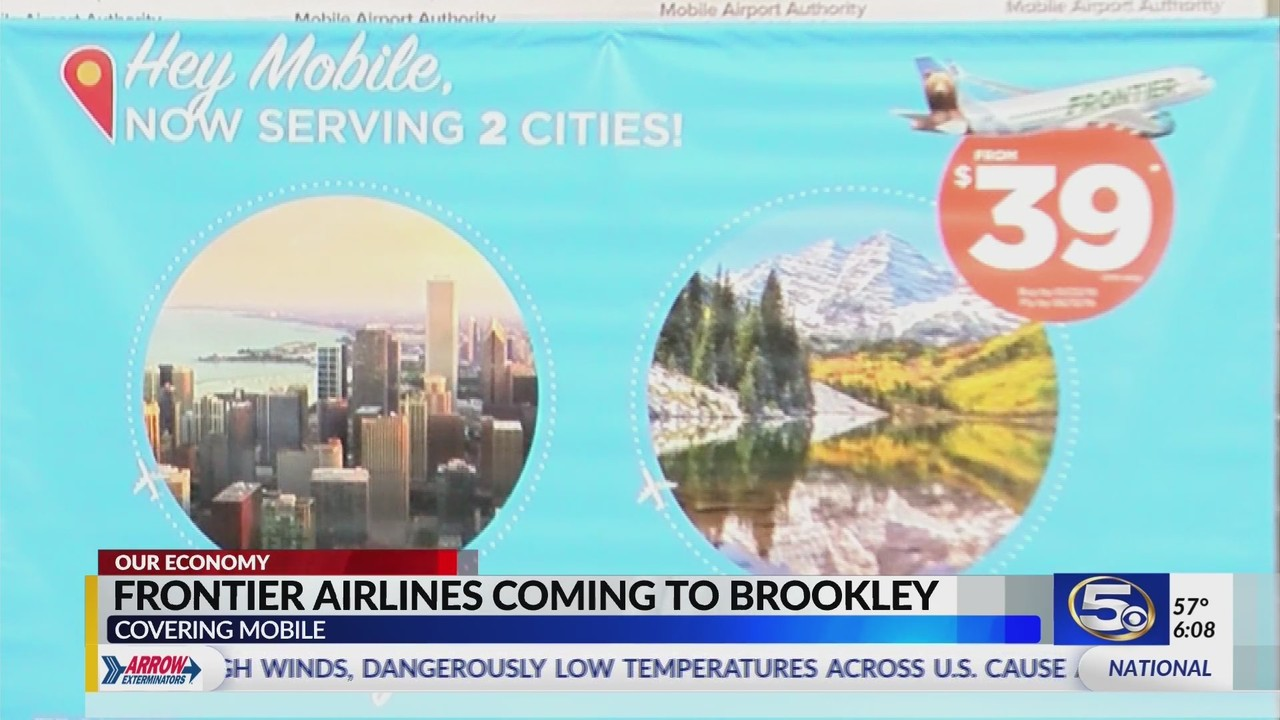 Hey Möbel Frontier Airlines Announces New Air Service From Downtown Mobile