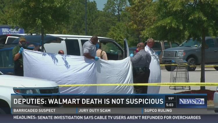 Deputies Walmart Death not Suspicious wltx