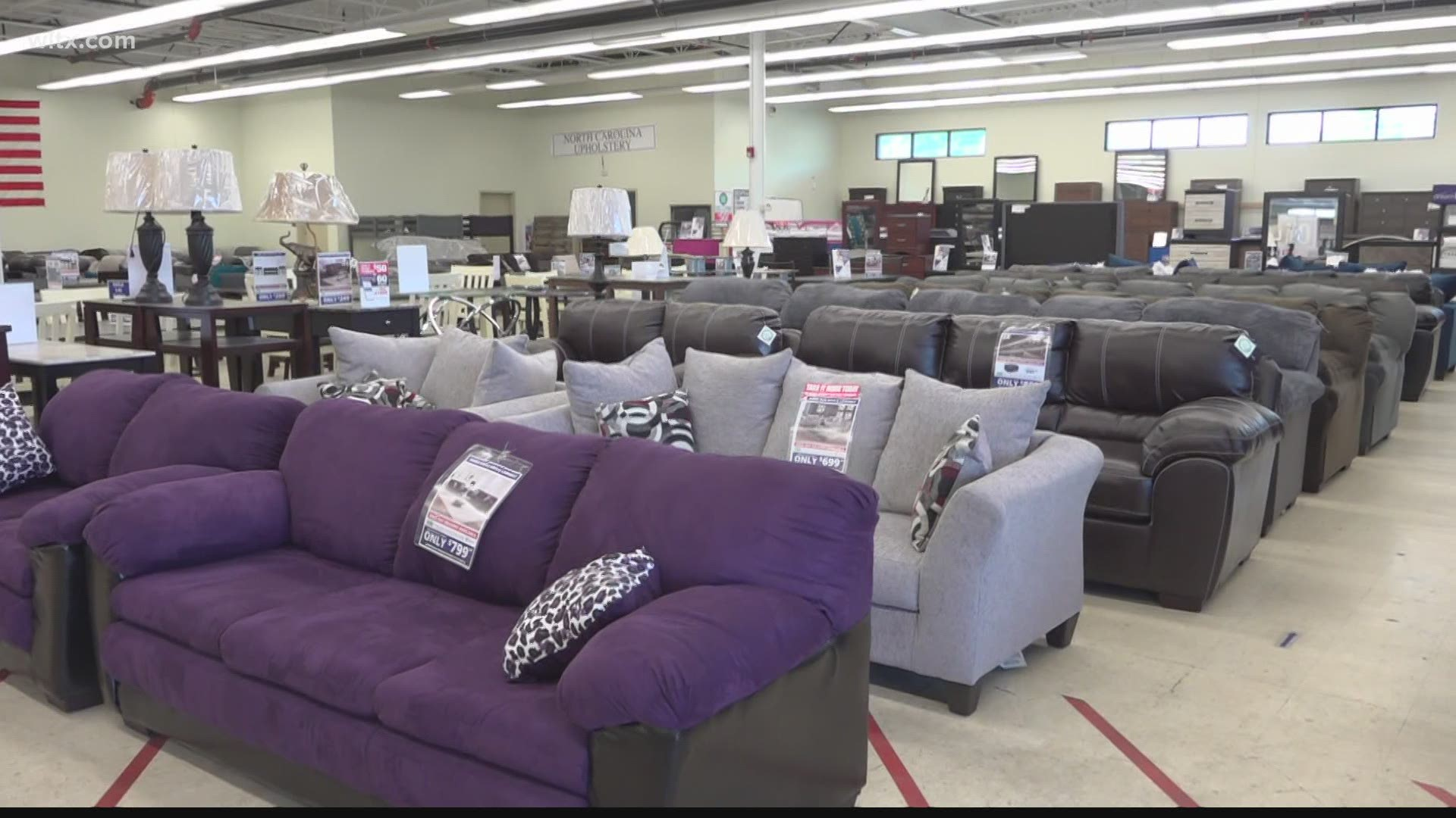 Some Furniture Retailers Struggling With Slow Supply Wltx Com