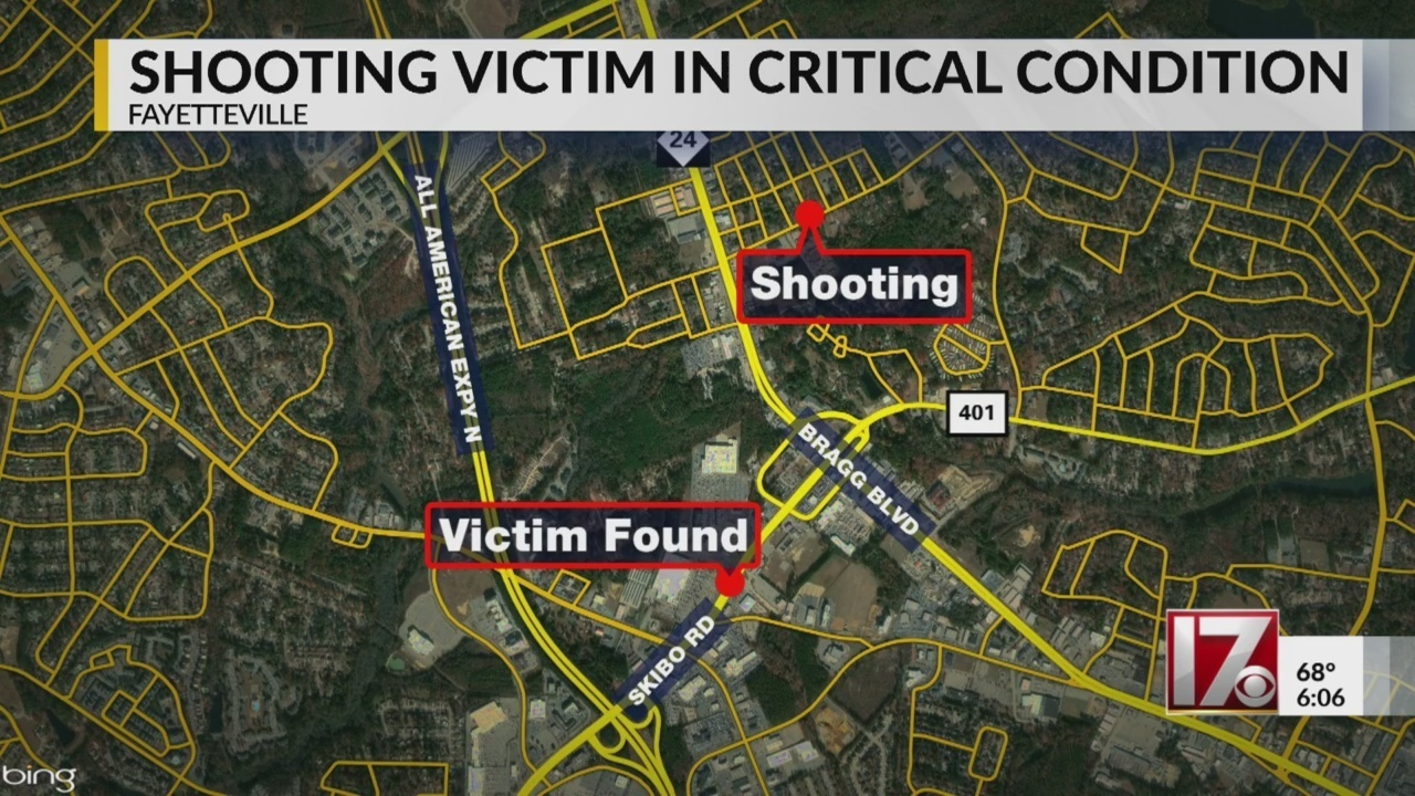 Man Listed As Critical After Broad Daylight Shooting In