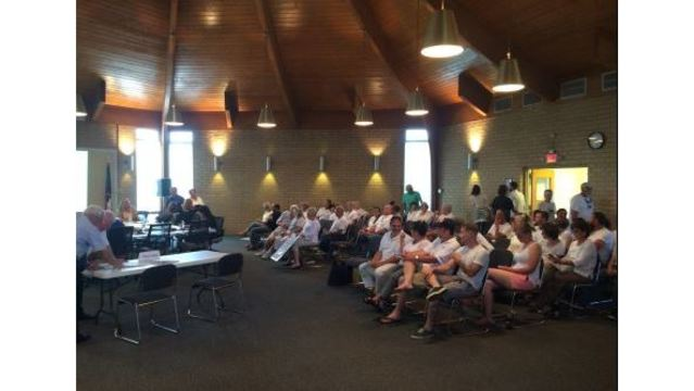 Crowded room in Swansboro over Walmart concerns