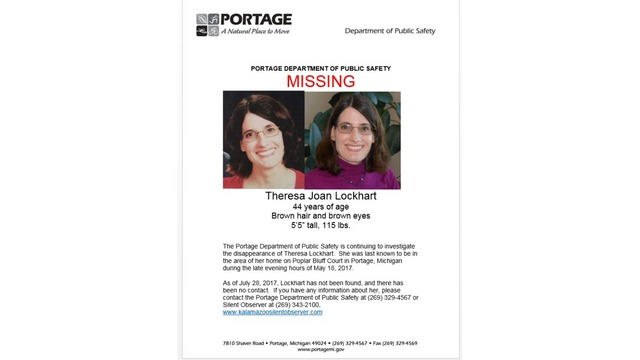 Portage police release new missing person poster in Lockhart case - Missing Persons Posters