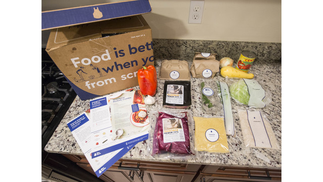 Blue Apron brings its meal-kits to Costco stores