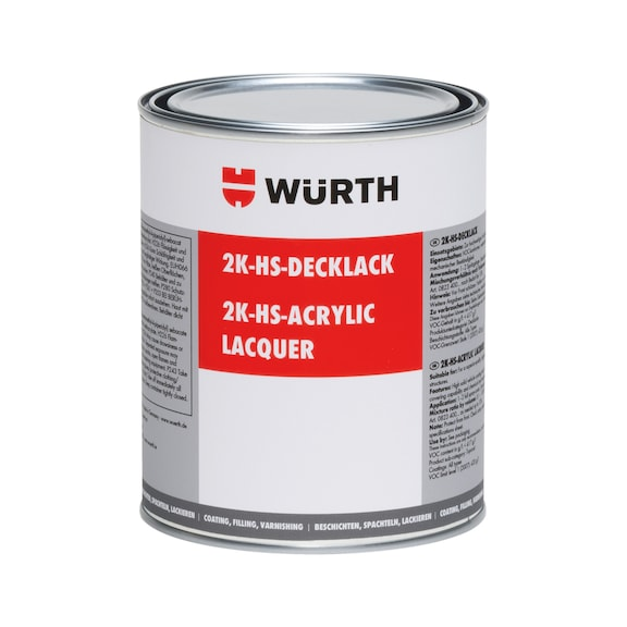 Buy 2-part HS acrylic lacquer, colour category 2 online WÜRTH