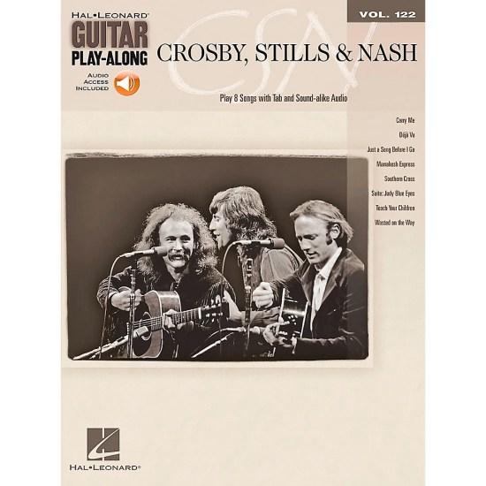 Product : Hal Leonard Crosby Stills & Nash - Guitar Play-Along Volume