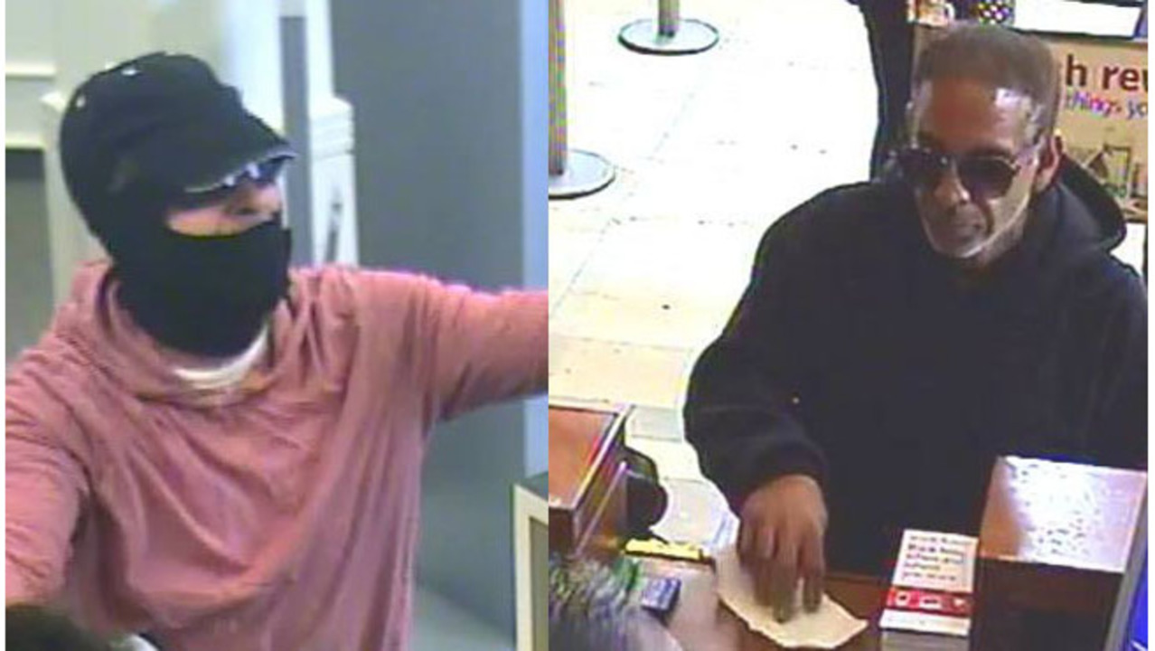Diy Bank Robber Shirt Surveillance Photos Of Springfield Bank Robbers Released