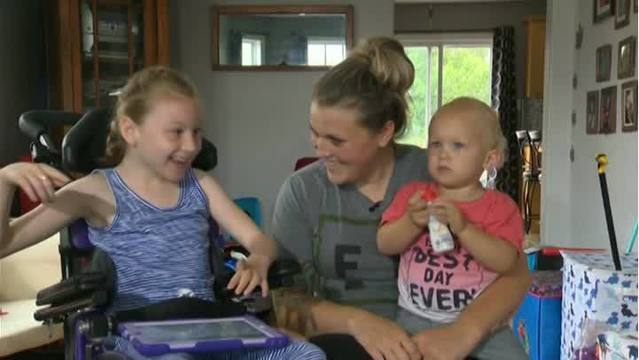 Girl with cerebral palsy saves brother from drowning - ma cerebral palsy