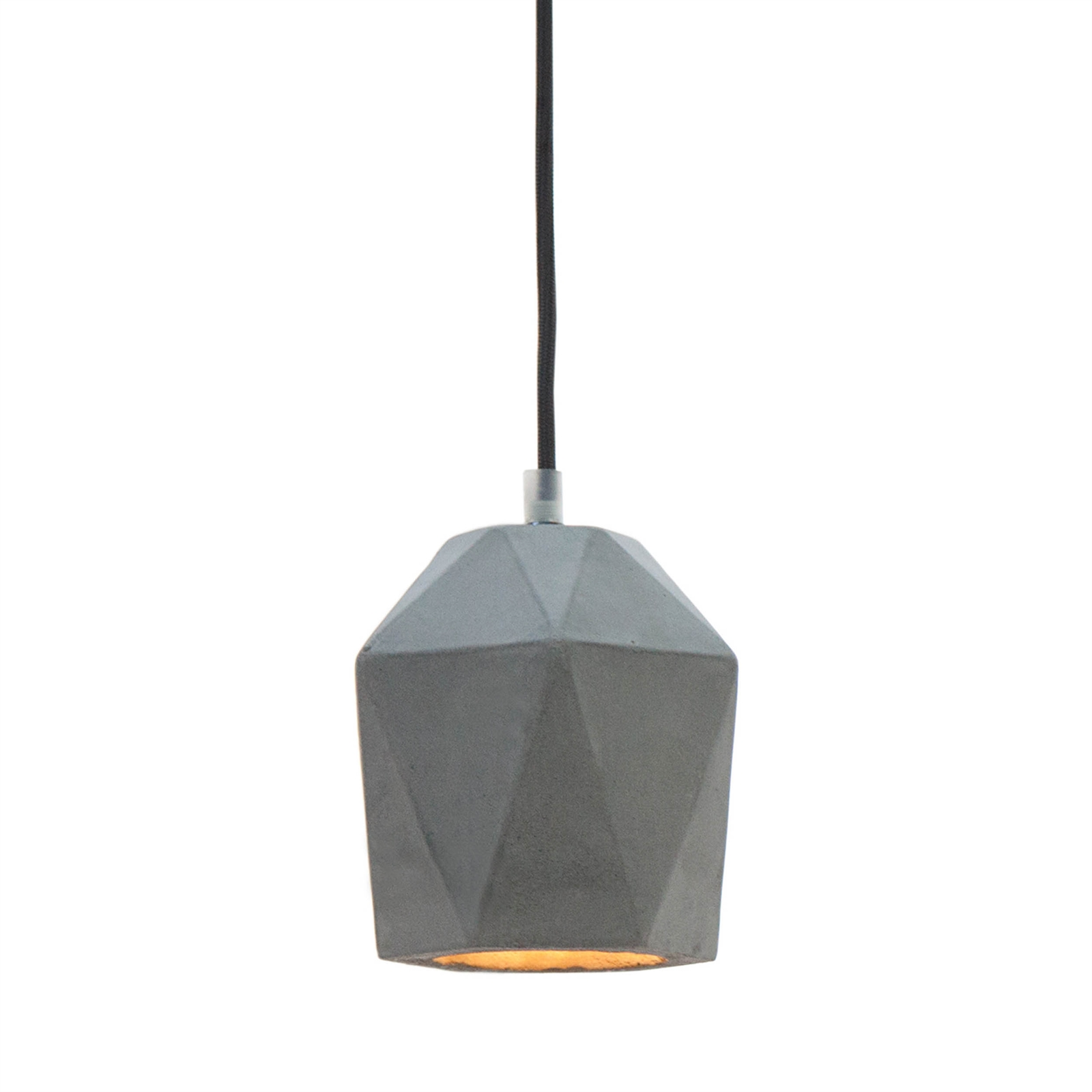 Hanging Drop Lights Unusual Design Chandelier Quotbeton Prisma Quot Grey 6