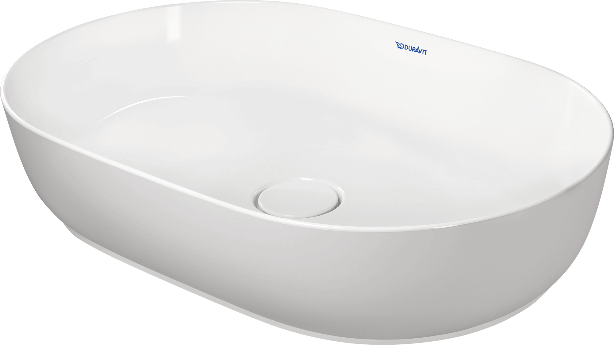 Lavabo Duravit Duravit Luv Lavabo Sobre Ceramica Without Overflow 600 White Stain