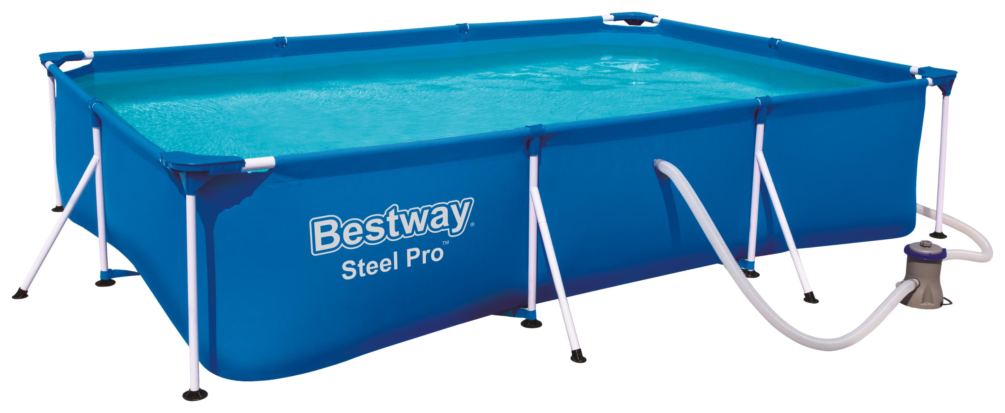 Bestway Pool Nicht Rund Pool Set 56411