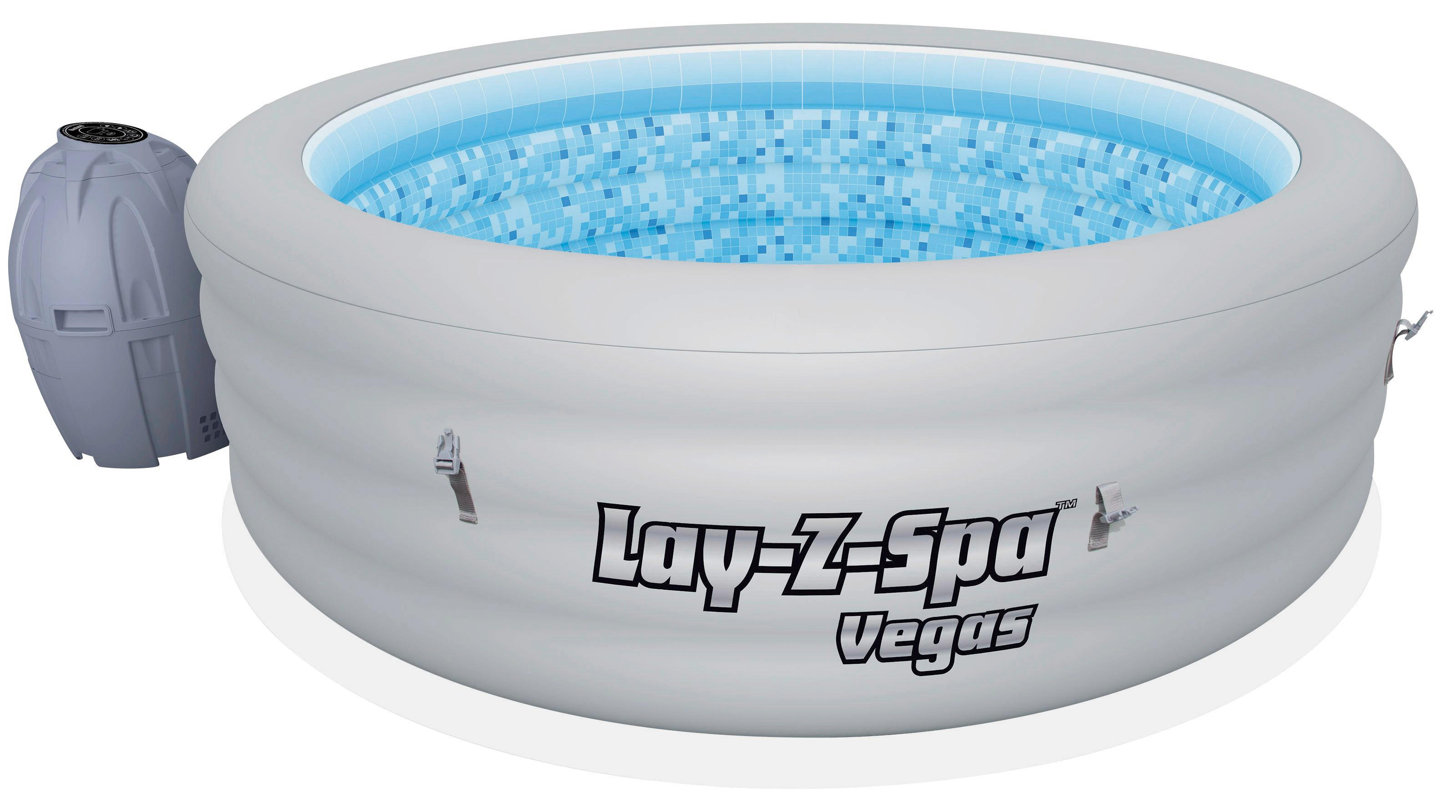 Bestway Pool Abdeckung Oval Whirlpool Lay Z Spa Vegas