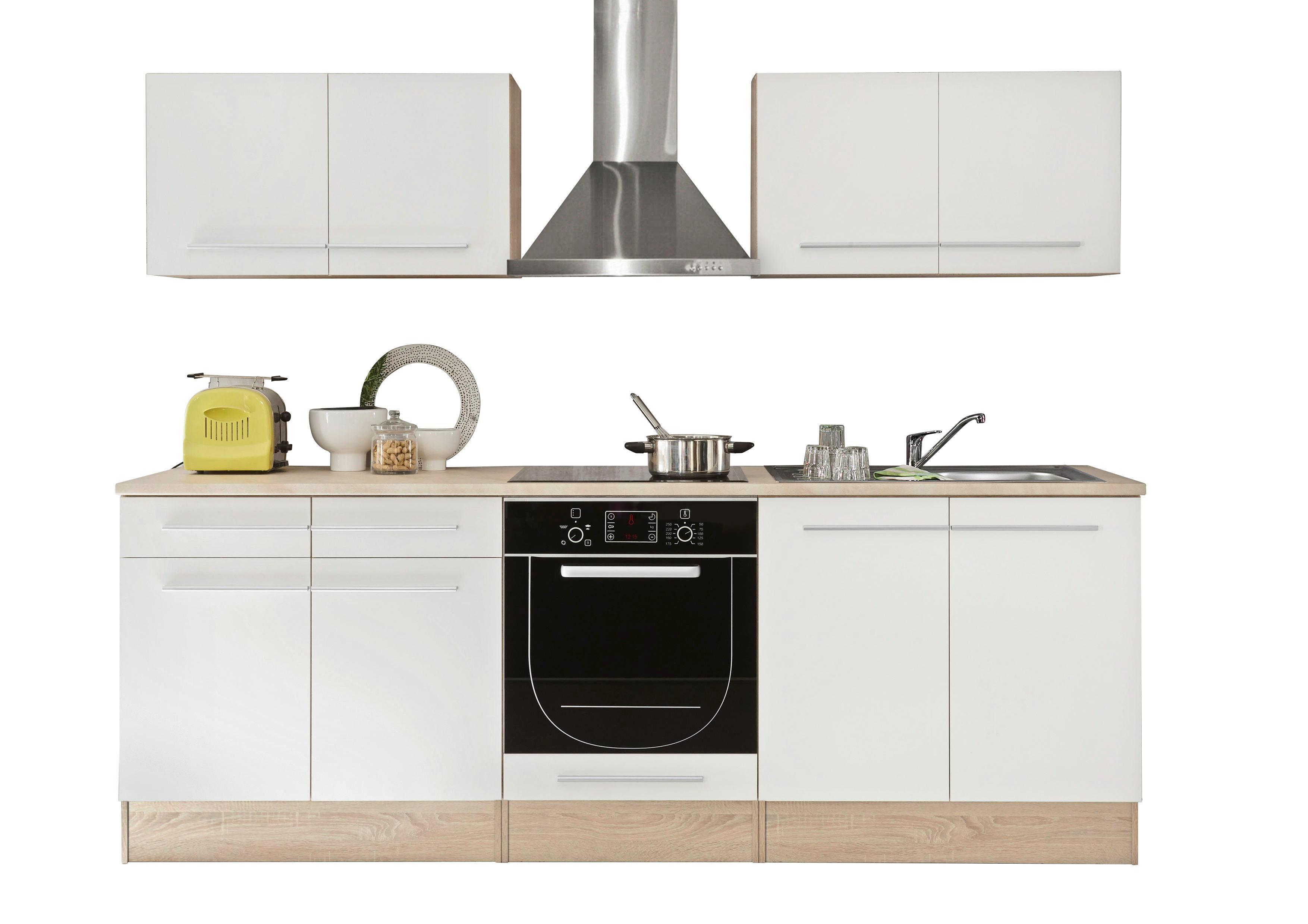 Miniküche Mit Kühlschrank Kaufen : Respekta miniküche pantry single küche küchenblock cm weiss