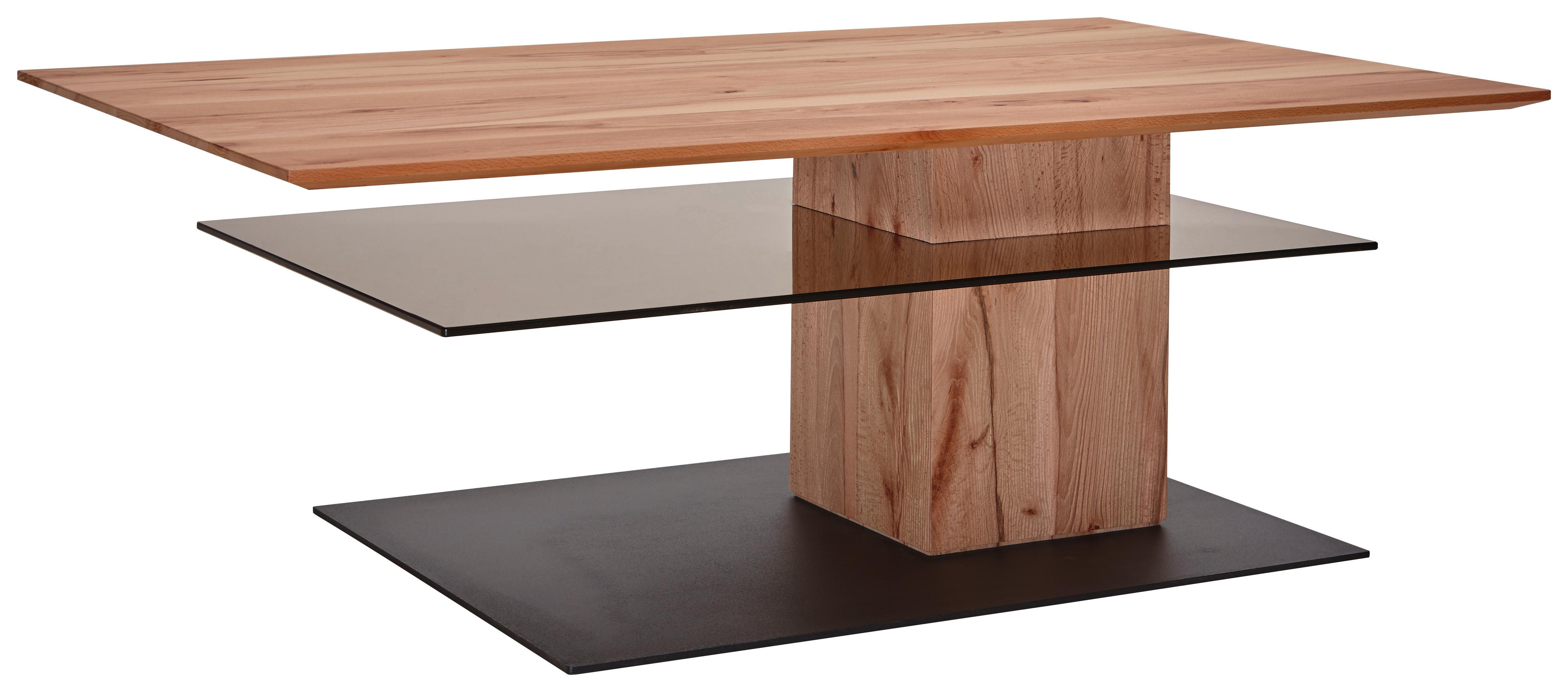 Valnatura Lina Couchtisch In Glas Holz 125 75 44 Cm