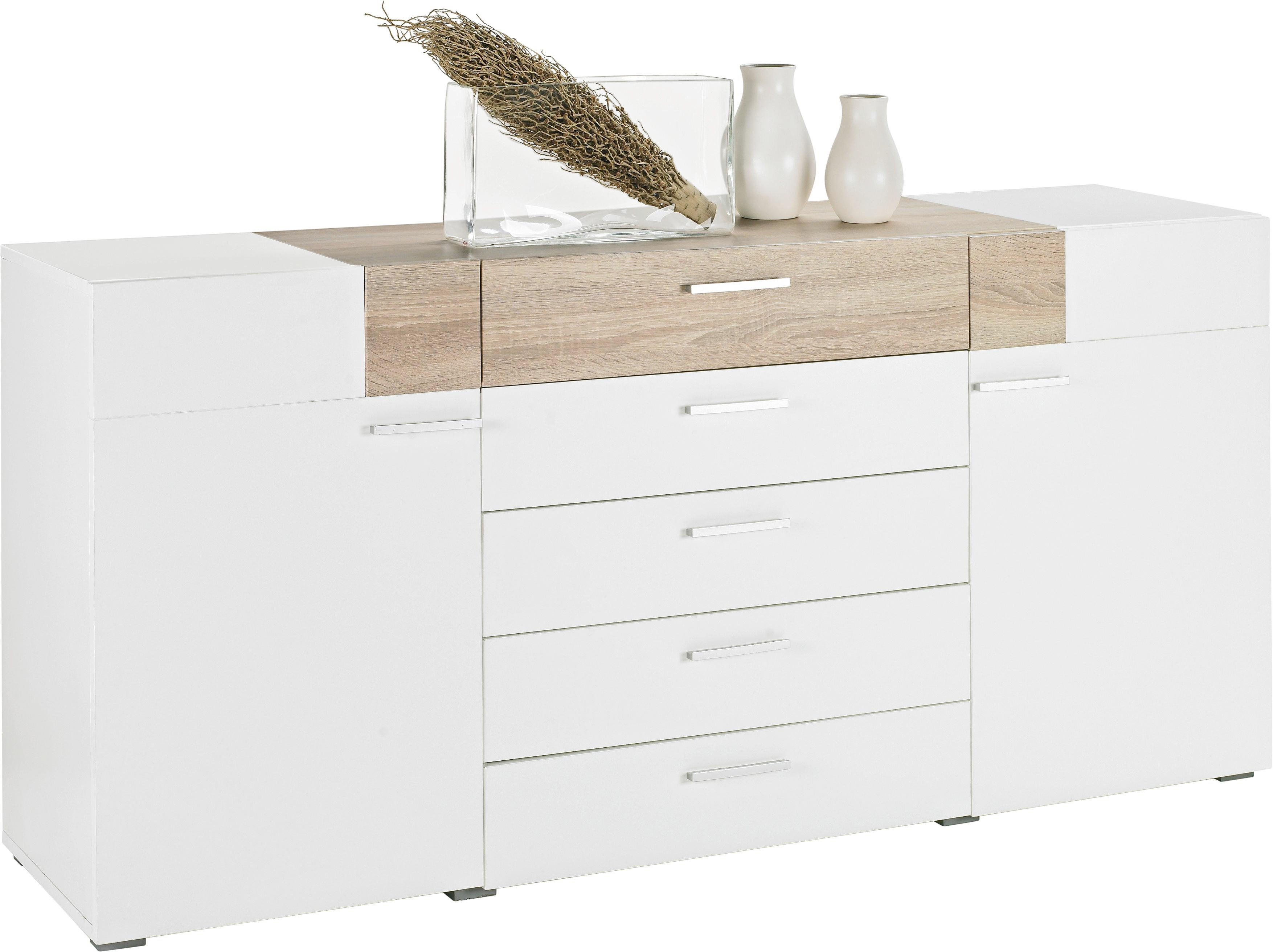 Eiche Sonoma Highboard Sonoma Eiche Wei Excellent Best Affordable With Kommode
