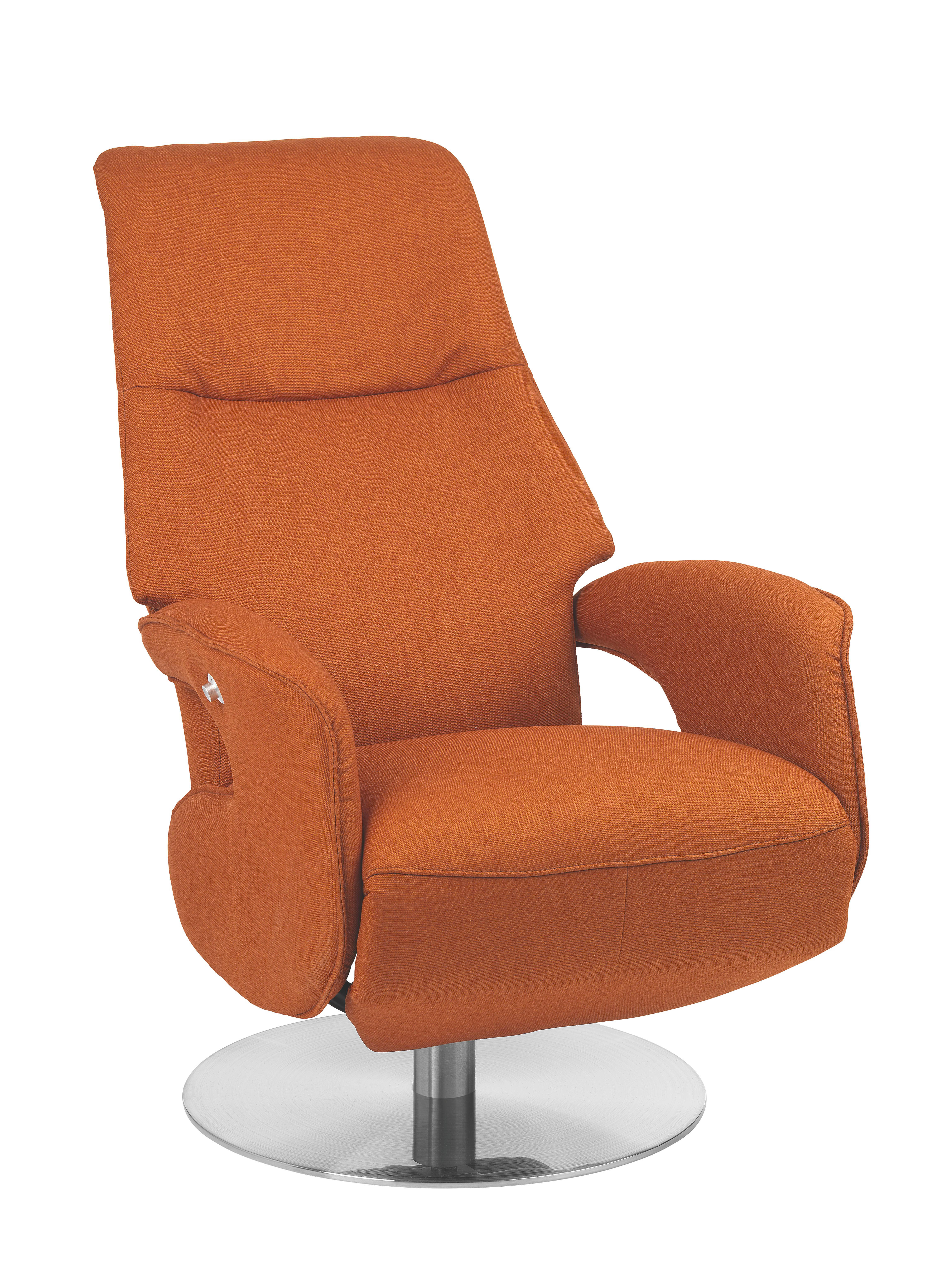 Welnova Relaxsessel Relaxsessel In Textil Orange