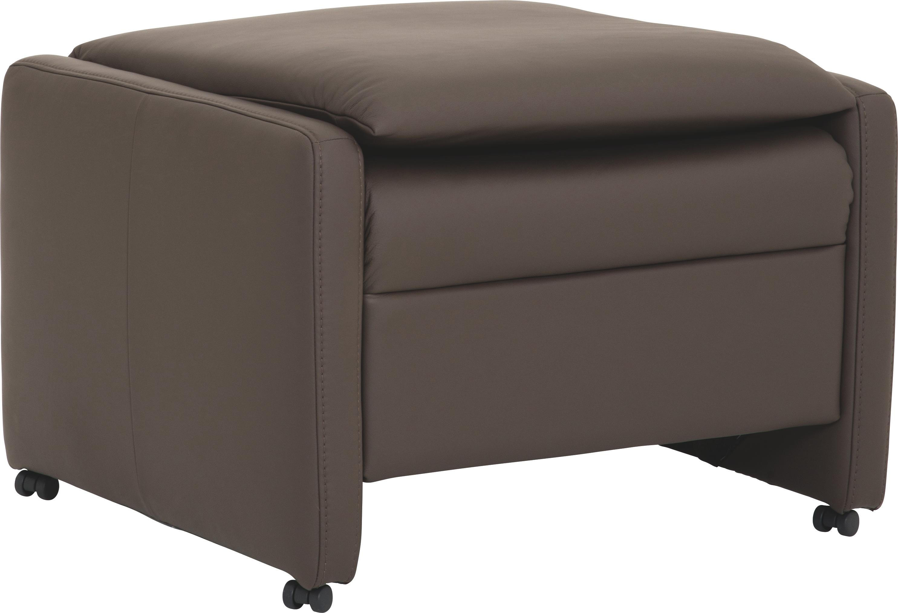 Hocker Leder Hocker In Leder Schlammfarben