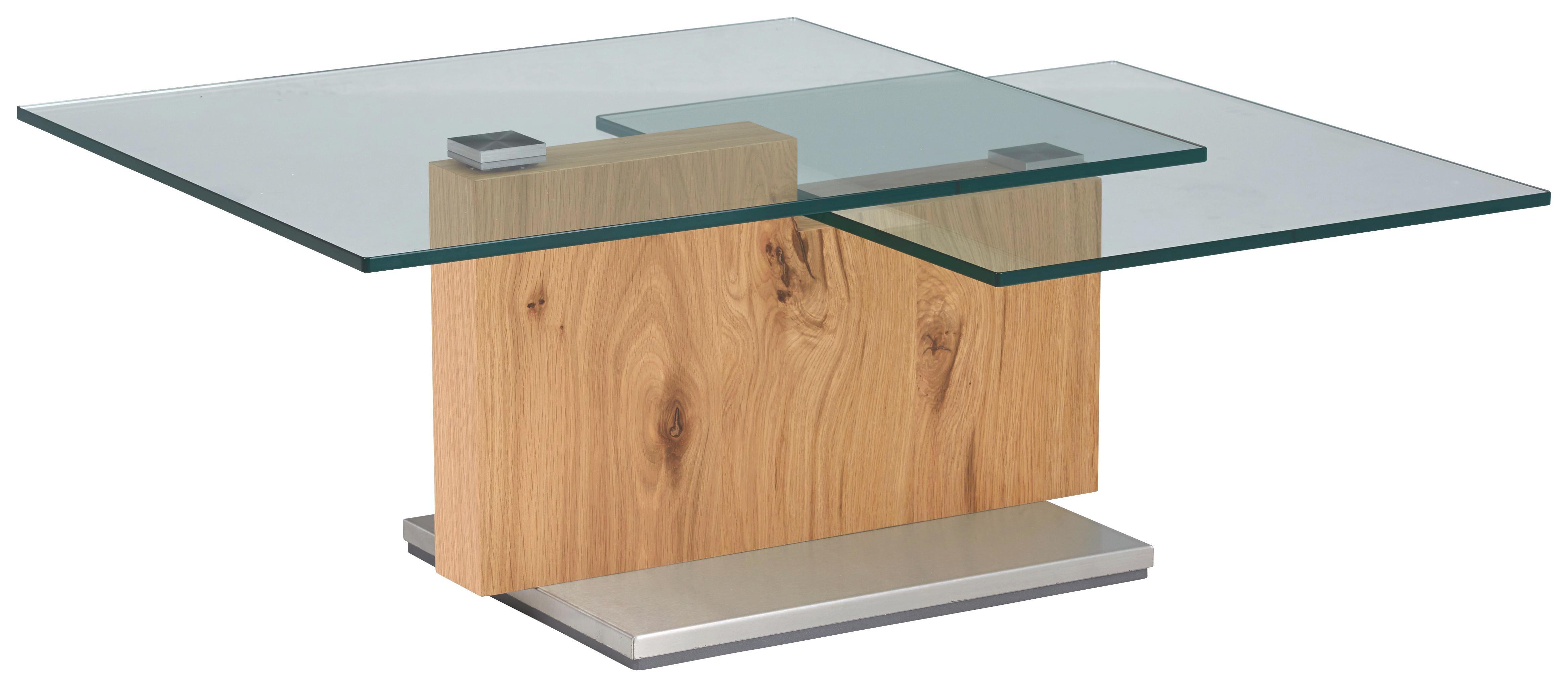 Couchtisch Novel Holz Crashglas Tisch