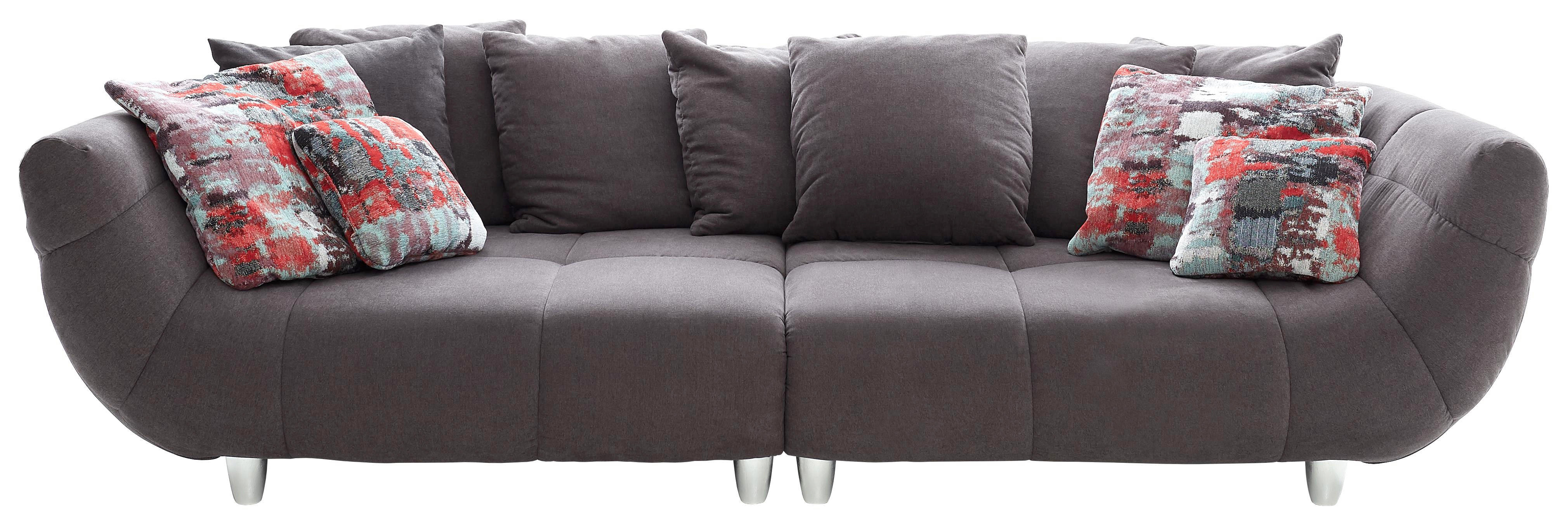 Bigsofa Blair Big Sofa Microfaser Beautiful Bigsofa Mikrofaser Anthrazit