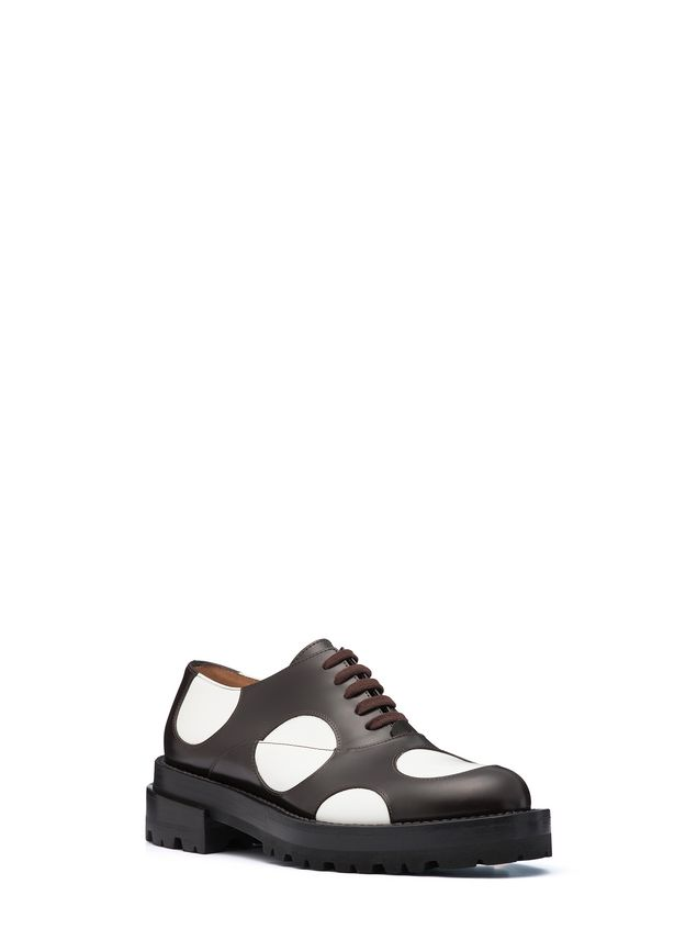 Lace Up In Calfskin, Bubble Design from the Marni Fall Winter