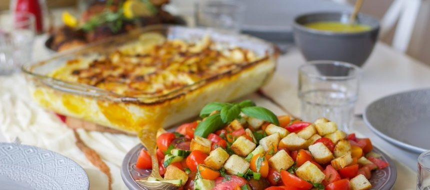 Panzanella- Toscansk tomatsallad med bröd