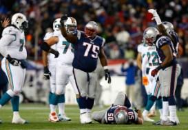 New England Patriots Vince Wilfork