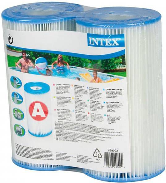 Filter Intex Zwembad Vervangen Filter Cartridge Intex Type A - Zwembad-filters.nl
