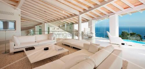 Holzbalken Decke Interieur Modern. die besten 25+ ...